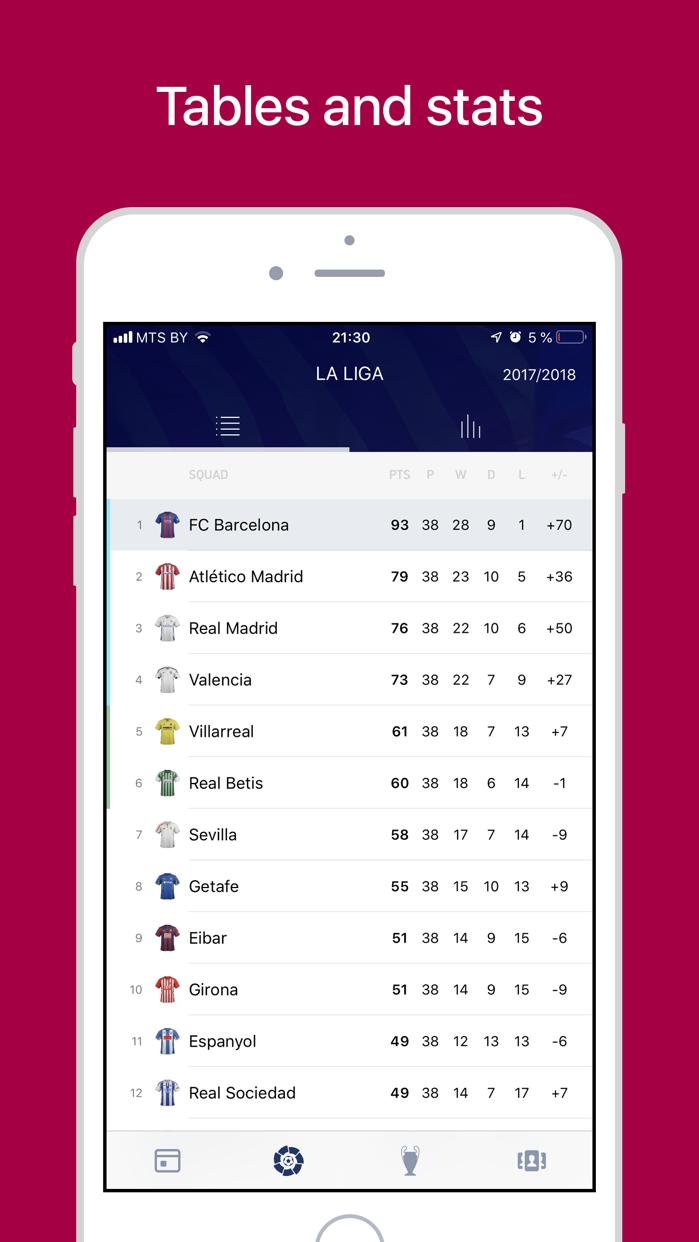 Barcelona Live: Goals & News Screenshot