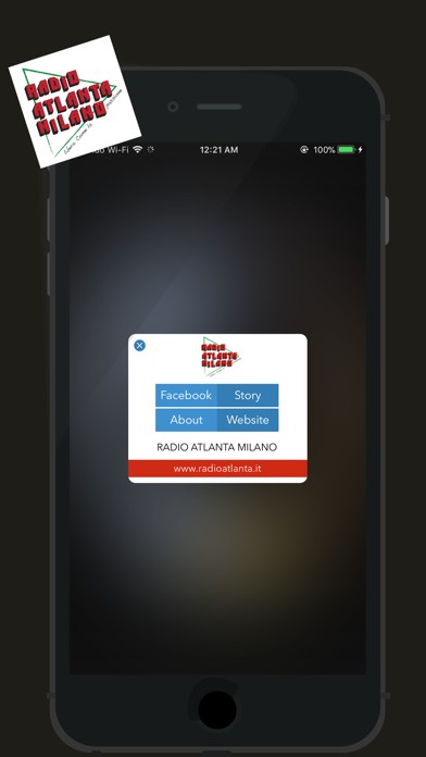 Radio Atlanta screenshot two