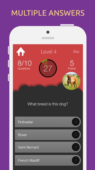 Dog Breeds Quiz Game screenshot one