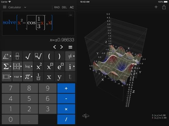 Screenshot #4 pour Visual Math 4D