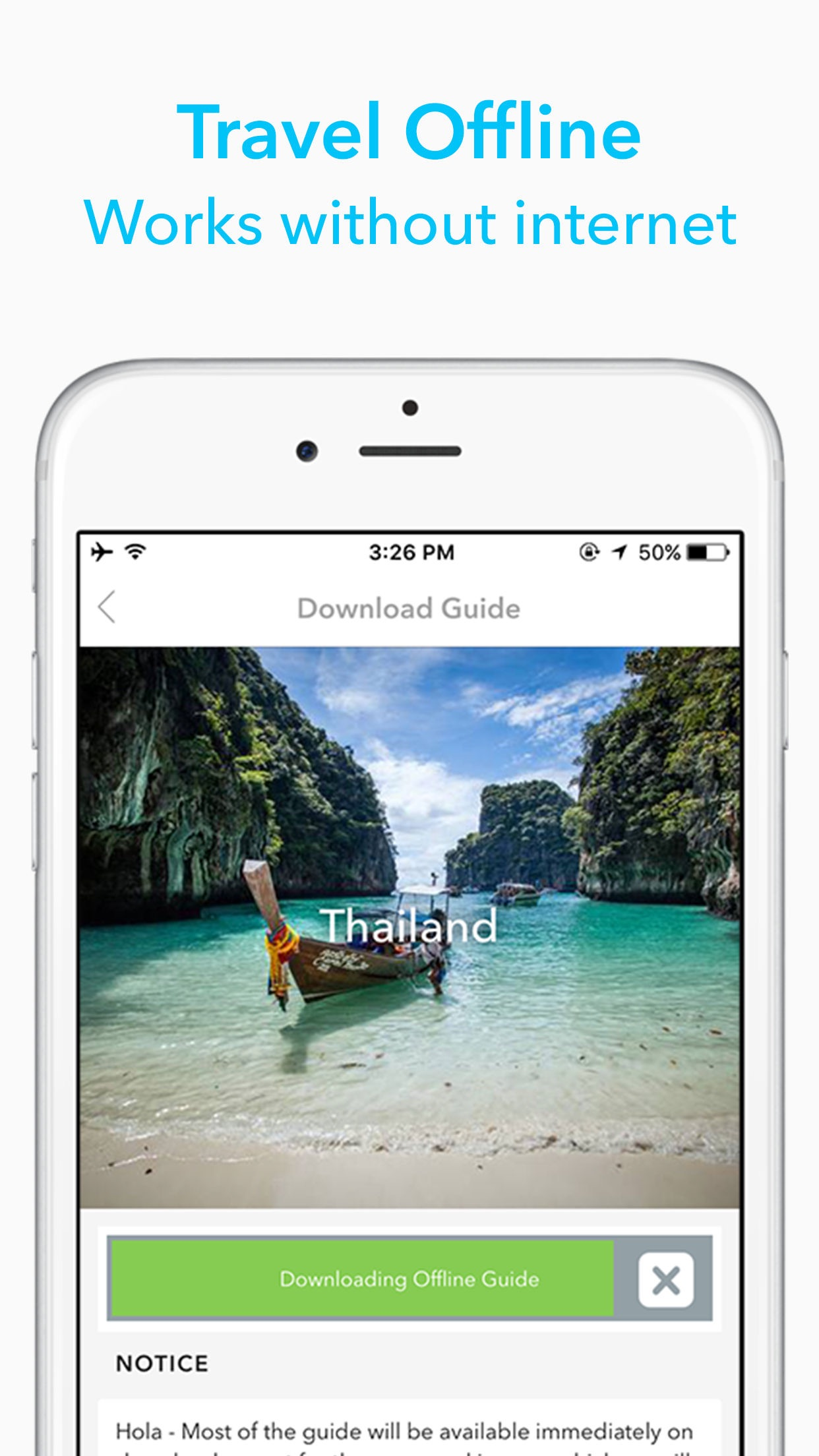 Screenshot do app People's Republic of China Travel Guide by Triposo