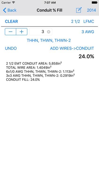 Electrical Wiring Pro 2014+ screenshot-4