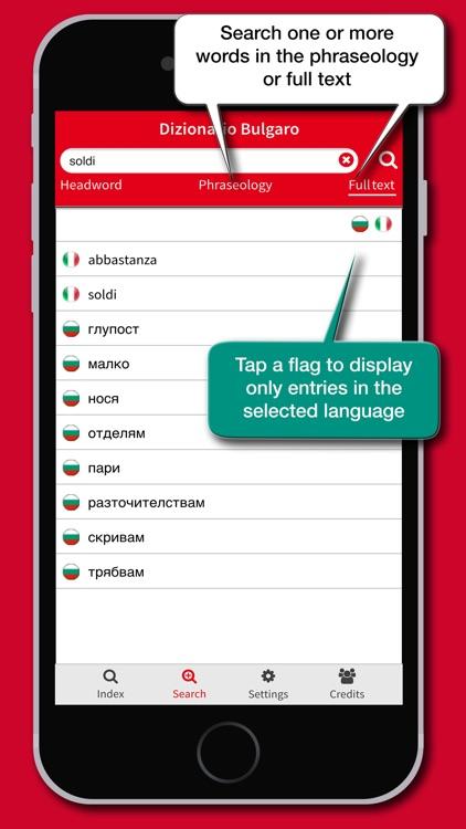 Dizionario Bulgaro Hoepli screenshot-3