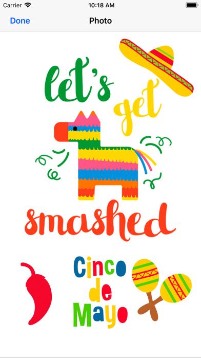 Cinco de Mayo - Stickers 2018