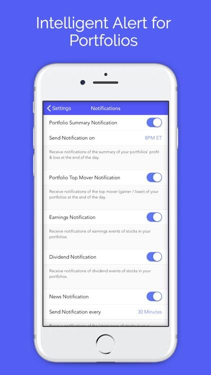 Active Portfolio with Alerts screenshot-4