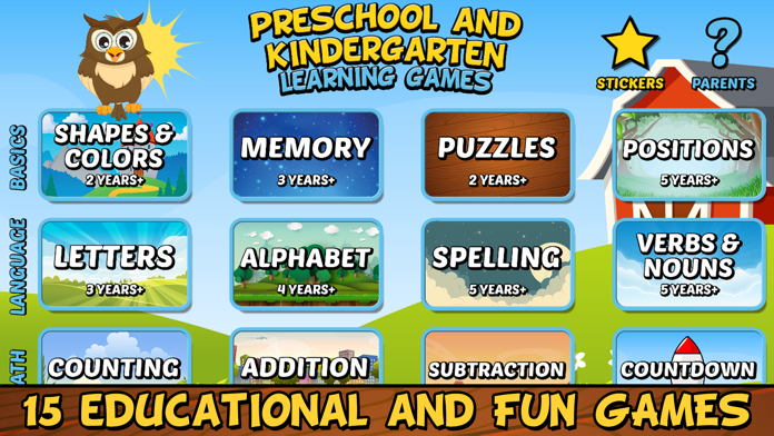 Preschool & Kindergarten Games Screenshot