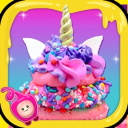 Rainbow Cake Bake Maker Game