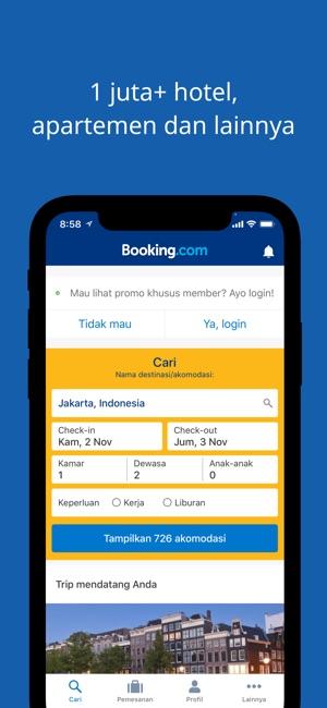 promo perjalanan booking com di app store rh itunes apple com