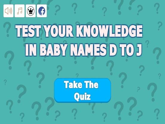 Baby Names D to J screenshot 5