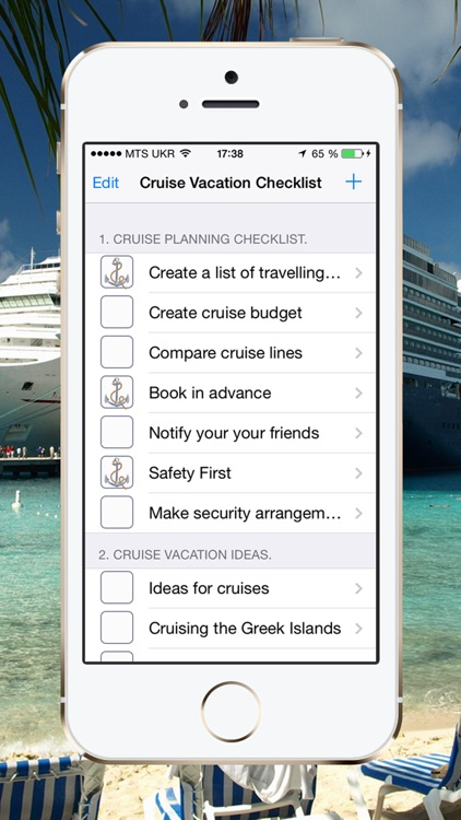 Cruise Vacation Checklist screenshot-1