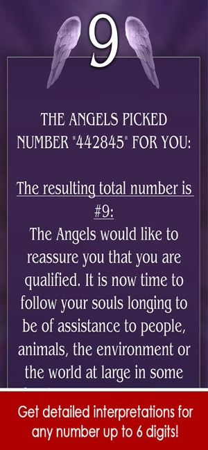 Angel Number Signs on the App Store