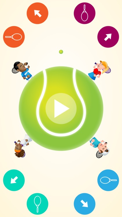 Circular Tennis: Multiplayer