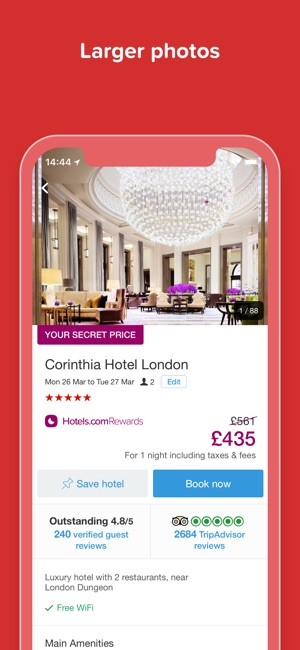 Hotels Com Hotel Room Booking On The App Store