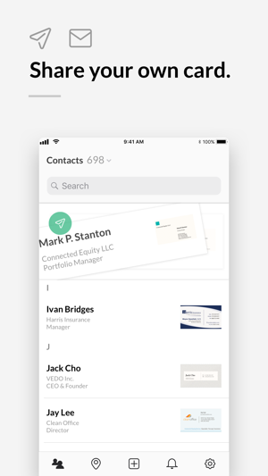 Stacked Business Card Scanner On The App Store