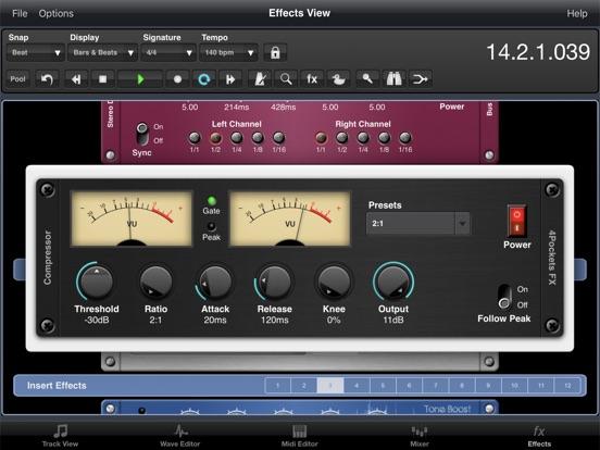 Audio Compressor AUv3 Plugin screenshot 6