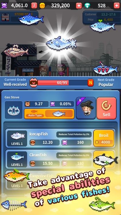 Retro Fish Chef screenshot-4
