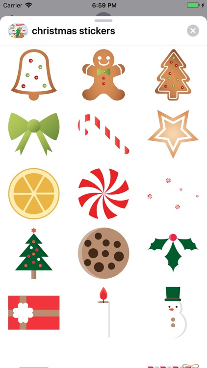 Celebrate Christmas Stickers