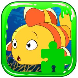 Cartoon Jigsaw Little Fish Tiny Puzzle app