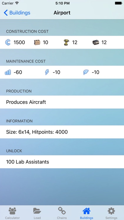 Production Calc. for Anno 2070 screenshot-3