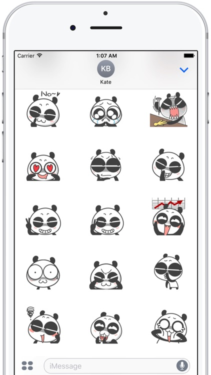 Cute Panda Emoji