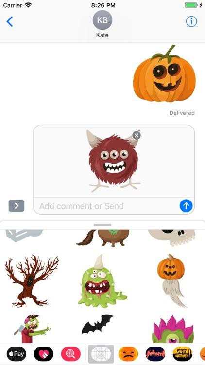 Happy Halloween Evil Sticker