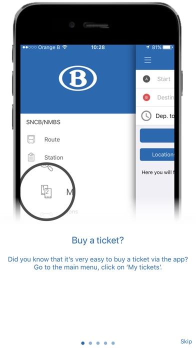 Screenshot for SNCB National in Belgium App Store