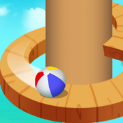 螺旋跳跃 - 开心球球弹跳
