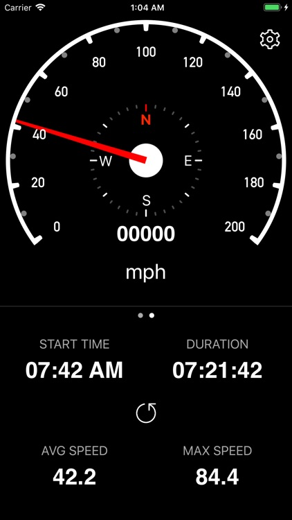 Speedometer Simple screenshot-2