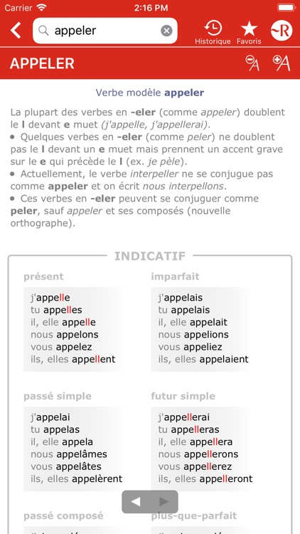 Dictionnaire Le Petit Robert screenshot-8