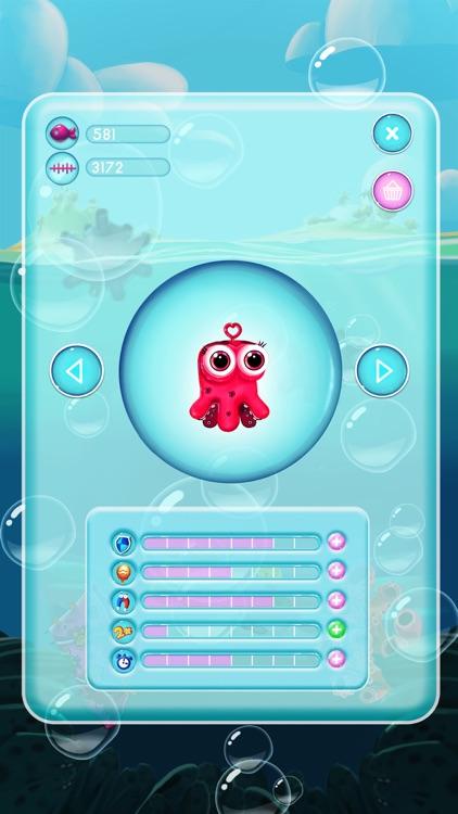 Jelly Fish Bubble screenshot-3