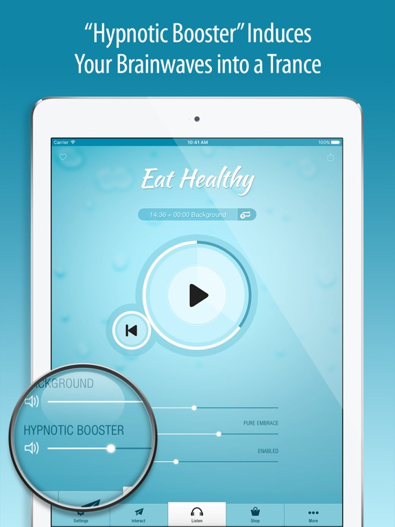Screenshot #6 pour Eat Healthy Hypnosis