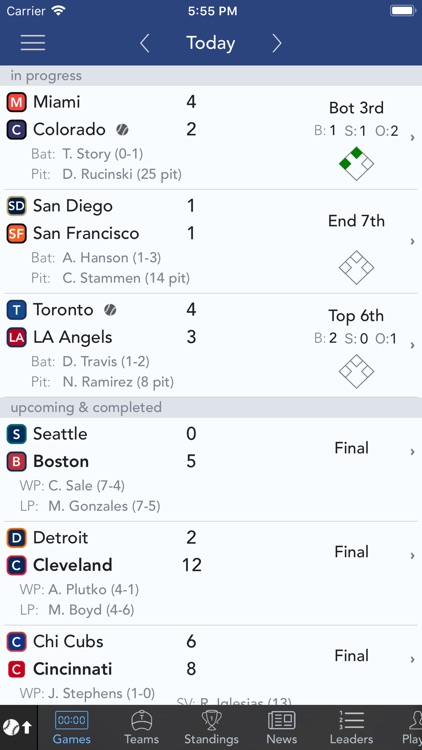 Sports Scores & Alerts screenshot-0