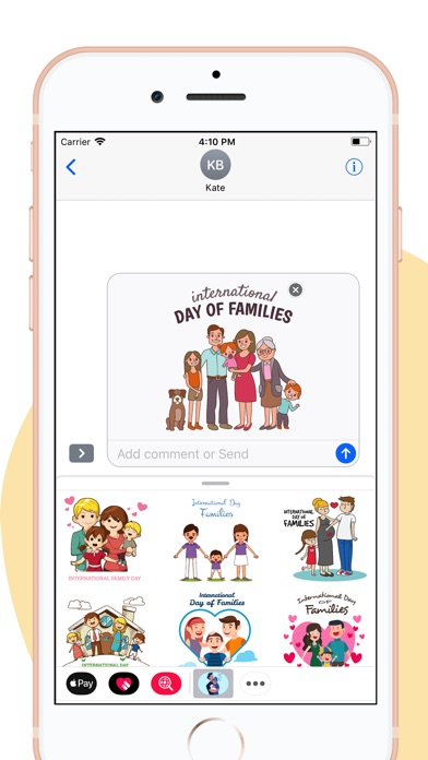 download Family Day Together Stickers apps 0