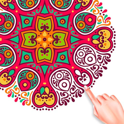 Mandala Color By Number Paint
