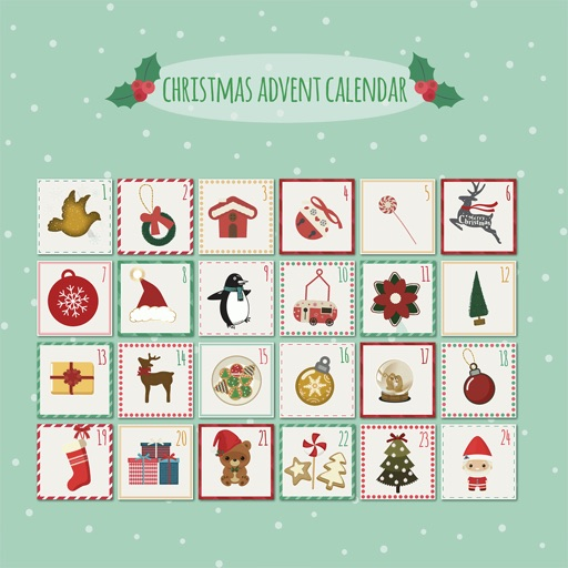 Christmas Advent Calendar Pack icon