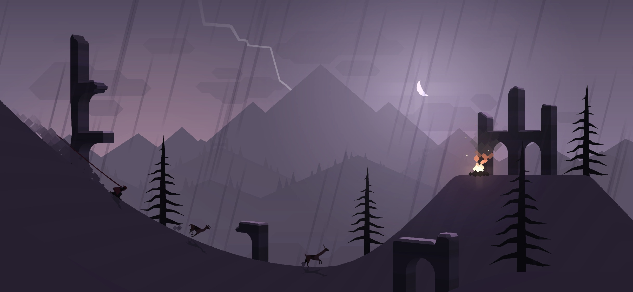 Screenshot do app Alto's Adventure