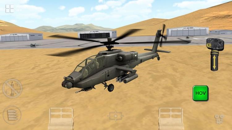 Apache 3D Sim Flight Simulator screenshot-4