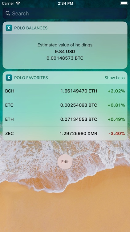 Poloniex crypto exchange screenshot-5