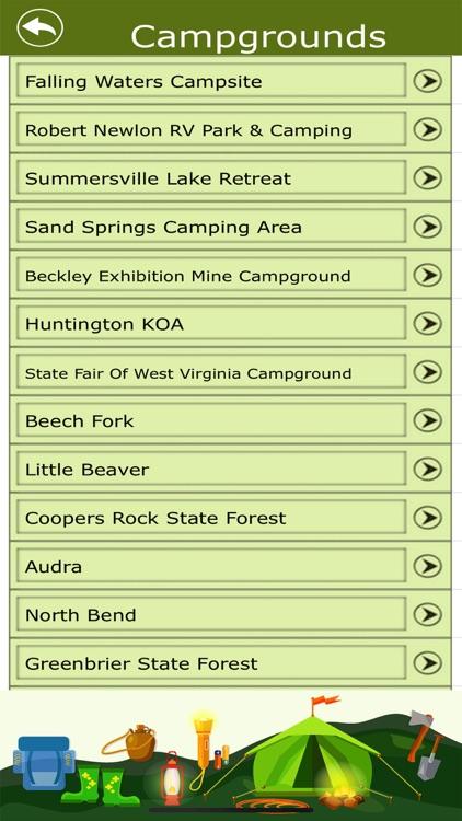 West Virginia Camps & Trails screenshot-3