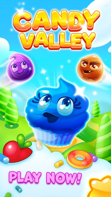 Candy Valley - Match 3 Puzzle screenshot-4