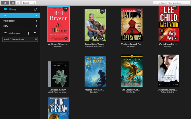 Kindle on the Mac App Store