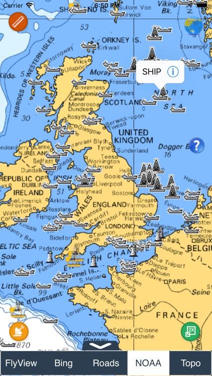 NOAA Buoys - Charts & Weather screenshot-8
