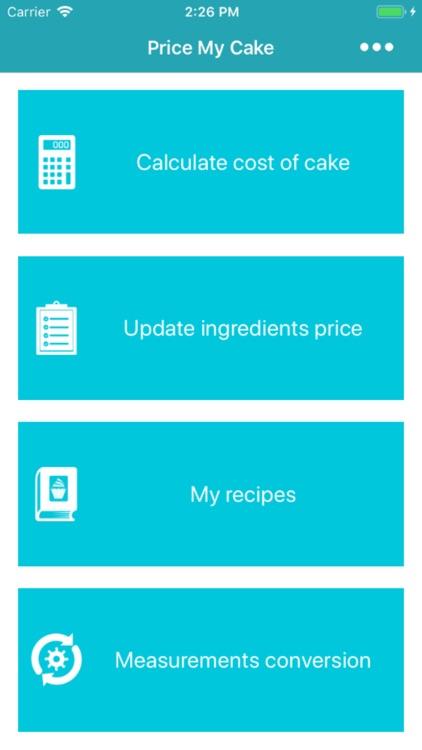 Price My Cake Pro screenshot-4
