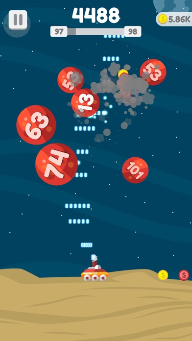 Planet Blast Screenshot on iOS