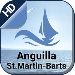 Anguilla ( St.Martin & Barts ) navigation charts