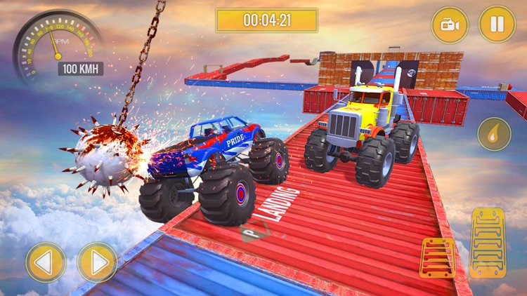 Monster Truck Stunts Challenge screenshot-0