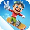 滑雪大冒险-地铁跑酷益智单机小游戏