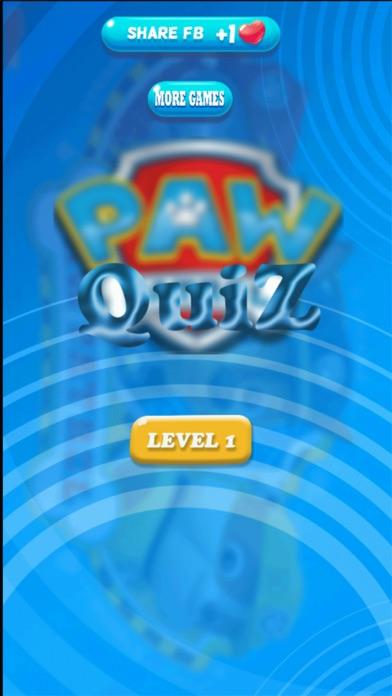 Screenshot for Quiz for PAW Patrol in Peru App Store