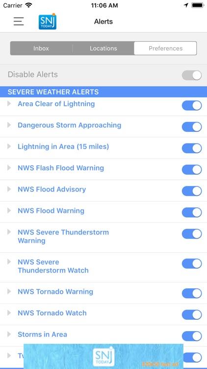 SNJ Today – Weather screenshot-3