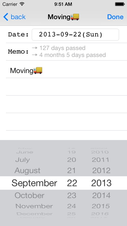DateCalcMemo ~ how many days